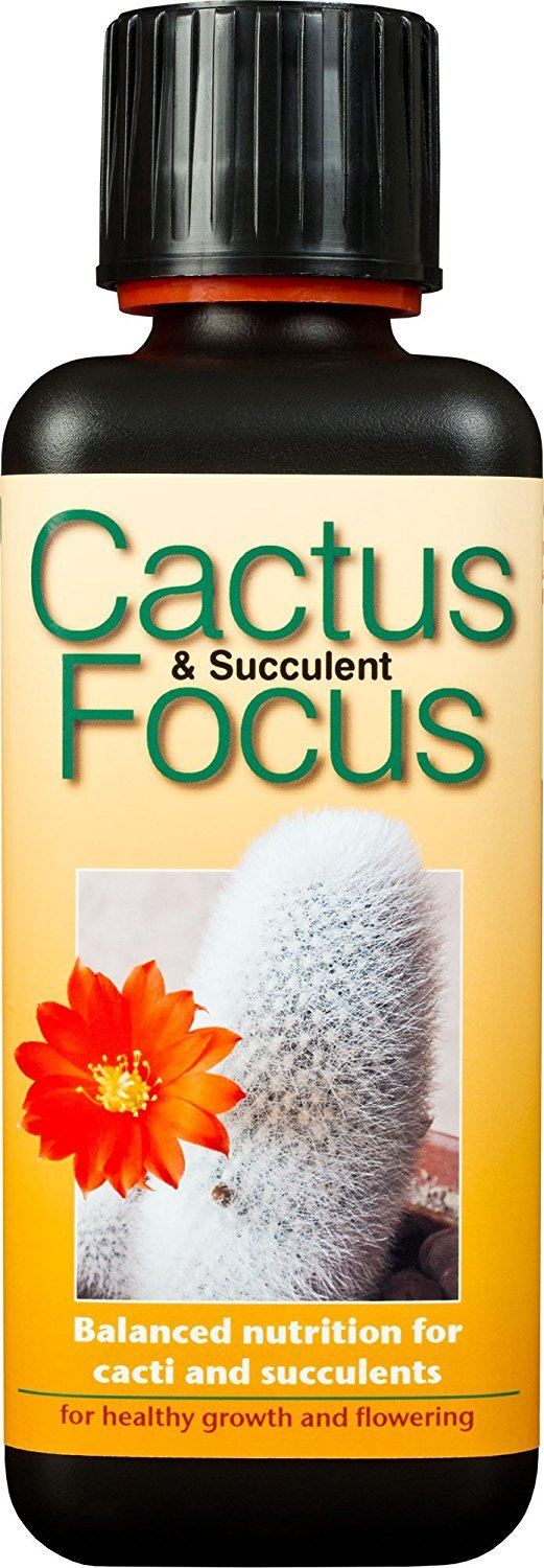Growth Technology Ltd GTCAF300 Cactus and Succulent Focus 300ml - Black