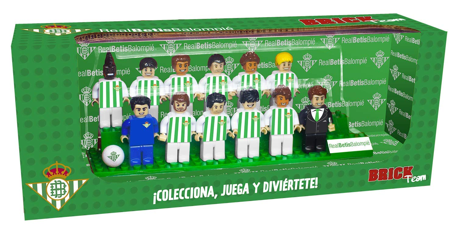 Eleven Force Brick Team Real Betis Balompié 2ª Edición, Multicolor ...