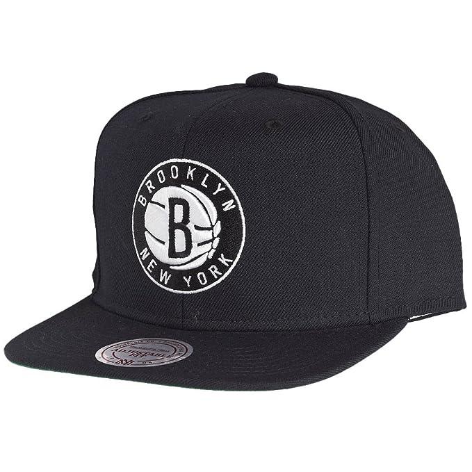 Gorra  Brooklyn Nets  Mitchell   Ness  Amazon.es  Ropa y accesorios 4ac54ae7e88