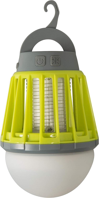Mountain Warehouse 2-in-1-Laterne mit Mückenschutz Verstellbare Lampe