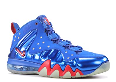 save off 86783 6d456 Nike Air Barkley Posite Max 76ers Mens Basketball Shoes 555097-300 Energy  7.5 M US