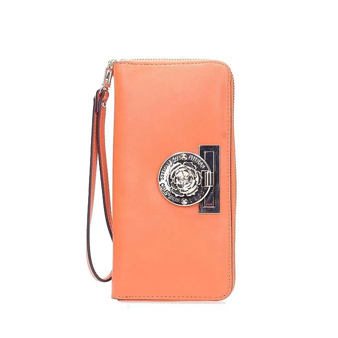 Guess SWVG71 77460 Cartera Accesorios Naranja Pz.: Amazon.es ...