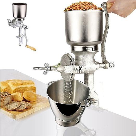 Manual Handle Cast Iron Mill Coffee Wheat Grain Cast Iron Metal Nut Mill
