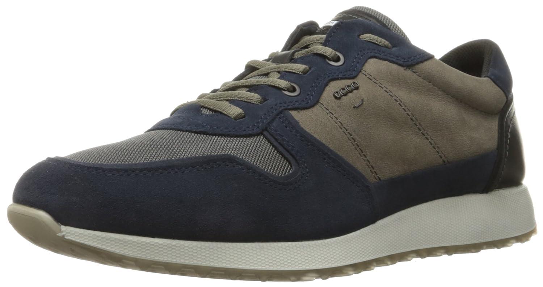 Mehrrbig Mehrrbig Mehrrbig (50300Marine  Warm grå) ECCO Sneak herrar mode skor  försäljning med hög rabatt