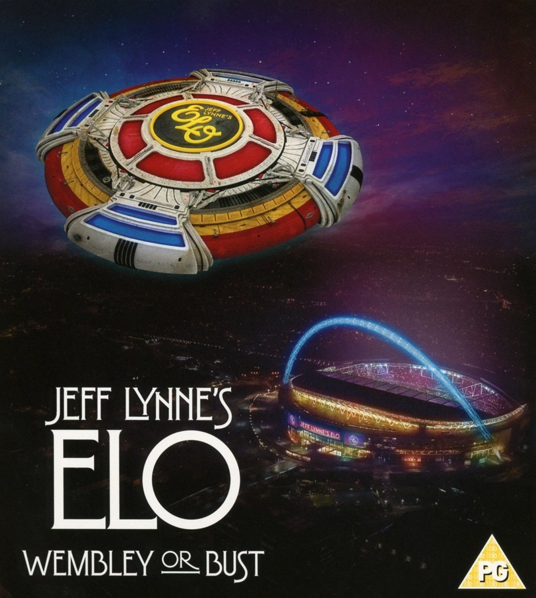 Jeff Lynne's ELO - Wembley or Bust (2 CD/1 Blu-Ray) by Columbia