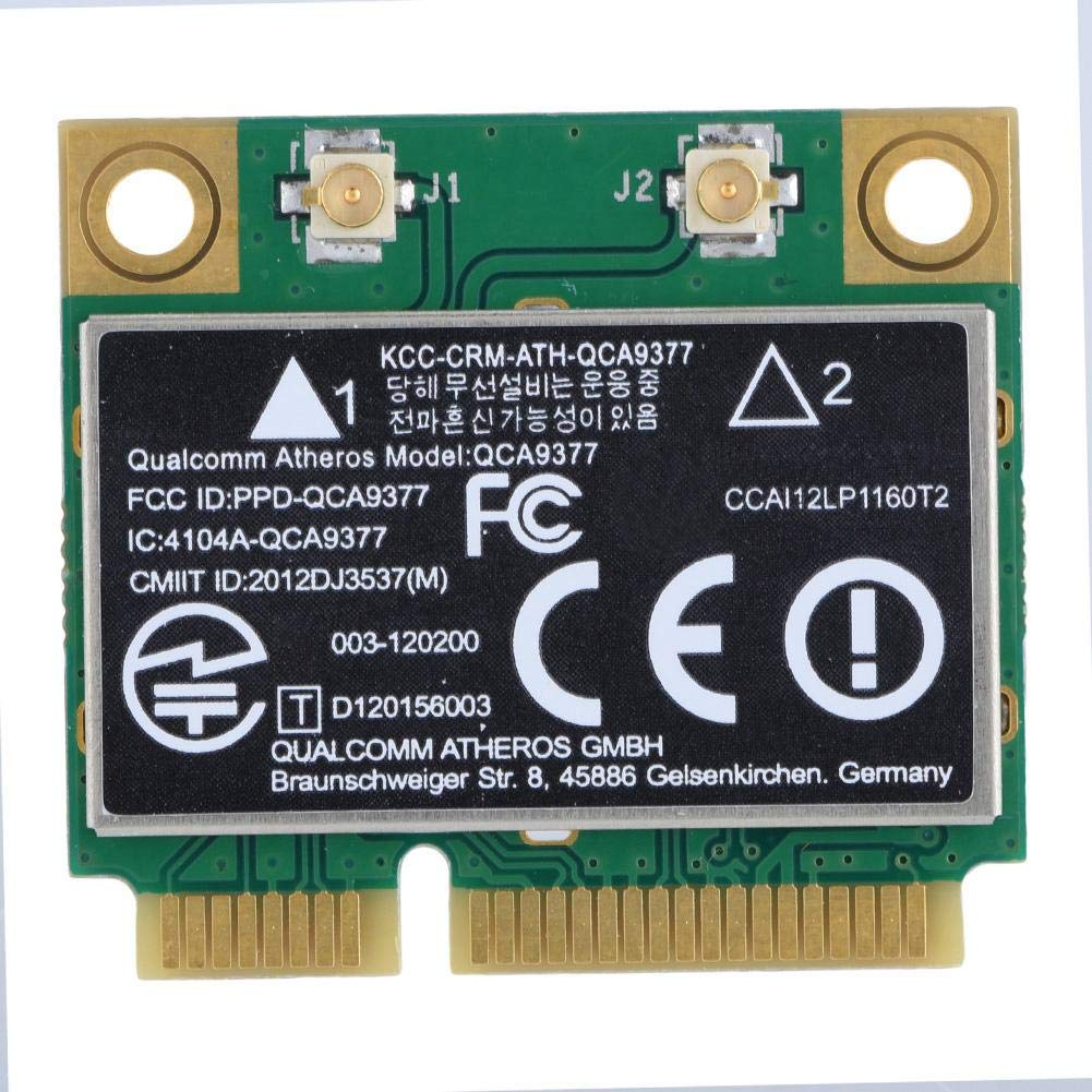 PCI-E Network Adapter Card, WiFi Card Dual Band 2.4G/5Ghz Network Card 433Mbps WiFi Mini PCI-E Wireless Card Zerone