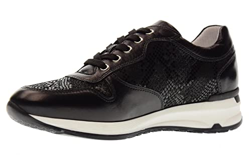 Nero Giardini Scarpe Donna Sneakers Basse P805052D 100 Nappa Pandora Taglia  38 Nero c2937284ab4