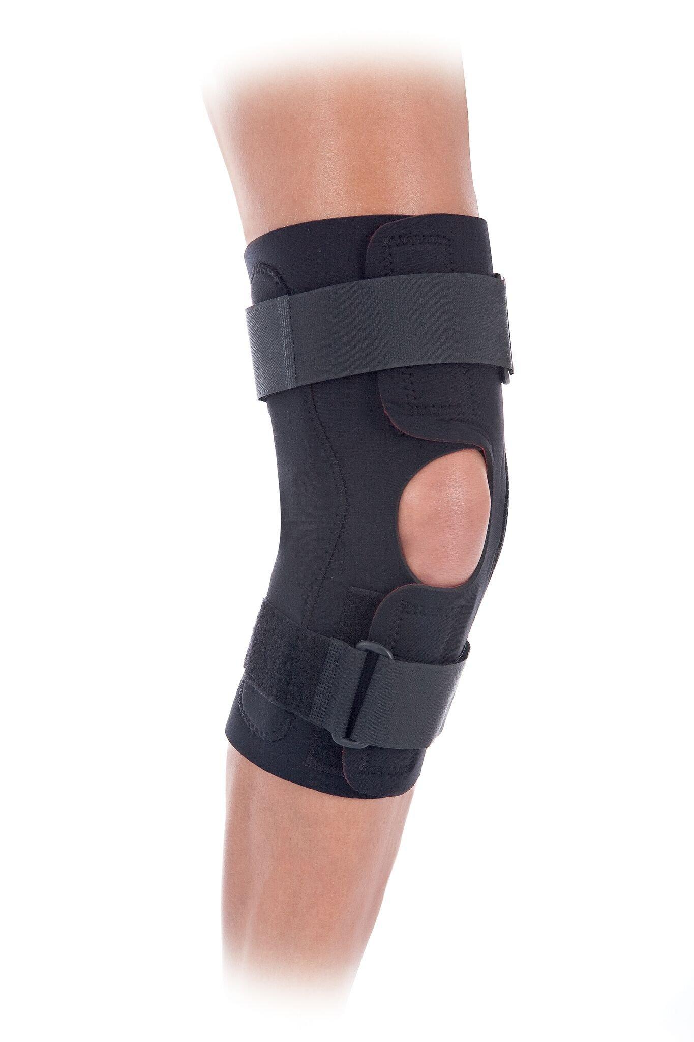 Health-Grade Wrap Around Hinged Knee Brace (Medium)