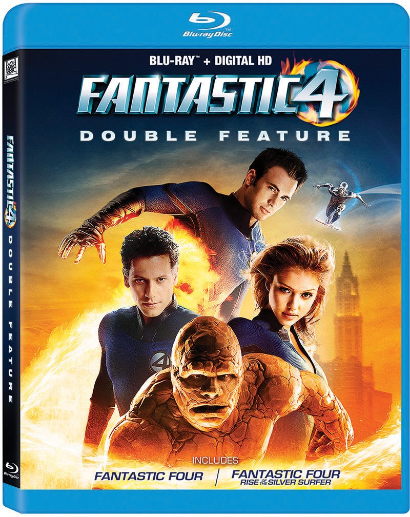 Blu-ray : Fantastic Four Double Feature (Pan & Scan)