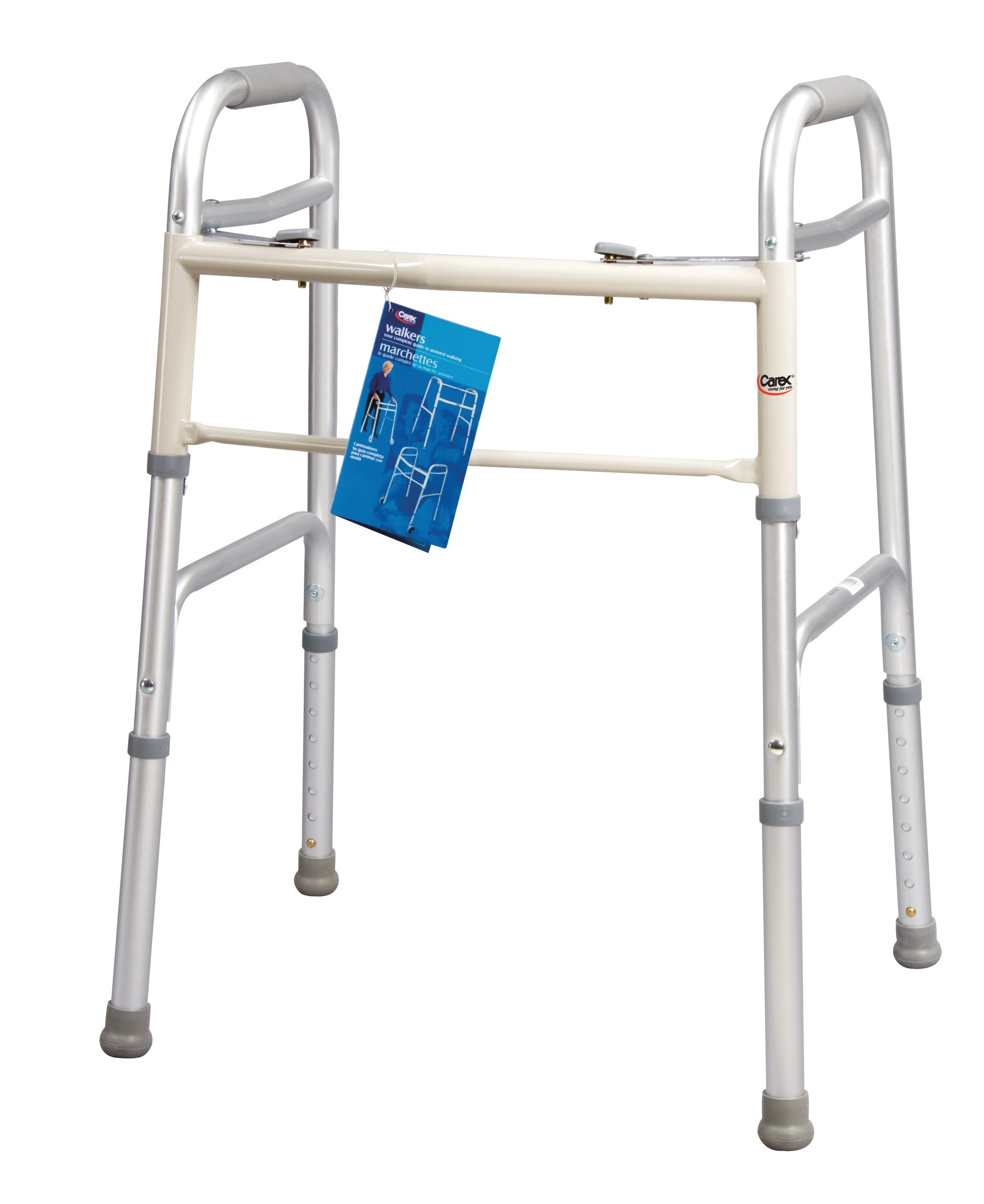 Carex Health Brands Dual-Button Walker, Youth