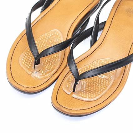 8bceeda39 Image Unavailable. Image not available for. Color  Tang Song 10Pairs Flip-Flop  Gel Toe Guards Cushions ...