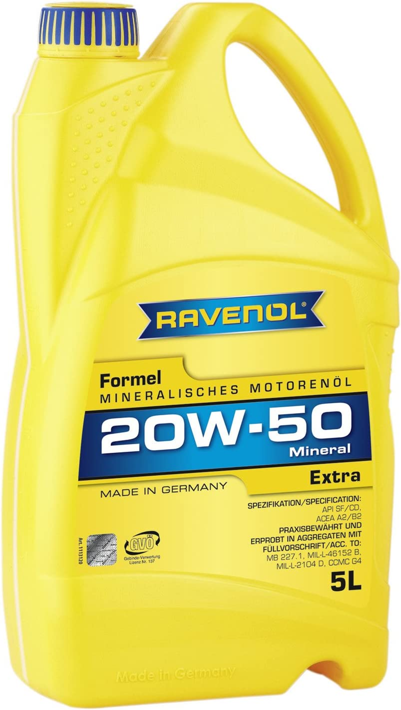 Ravenol Formel Extra Sae 20w 50 Auto