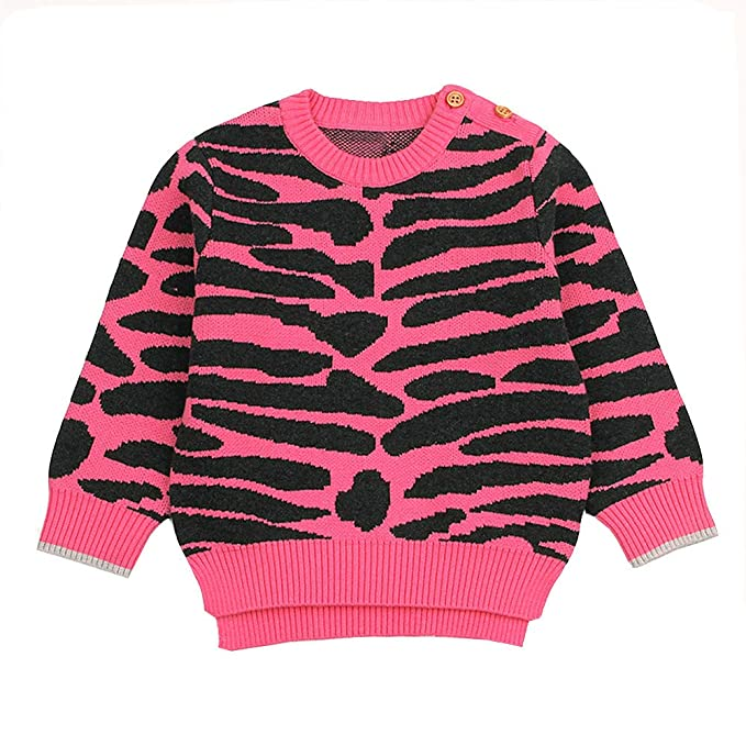 3d53ea7c Amazon.com: Londony ♥‿◕ Clearance Sales,Newborn Baby Stripe Sweater Knit  Pullover Sweatshirt Toddler Girls Boys Warm Clothes: Clothing