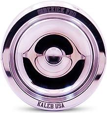 Sidekick Yoyo Pro Reverse Splashes Responsive Professional Yo-Yo (Polished Aluminum)