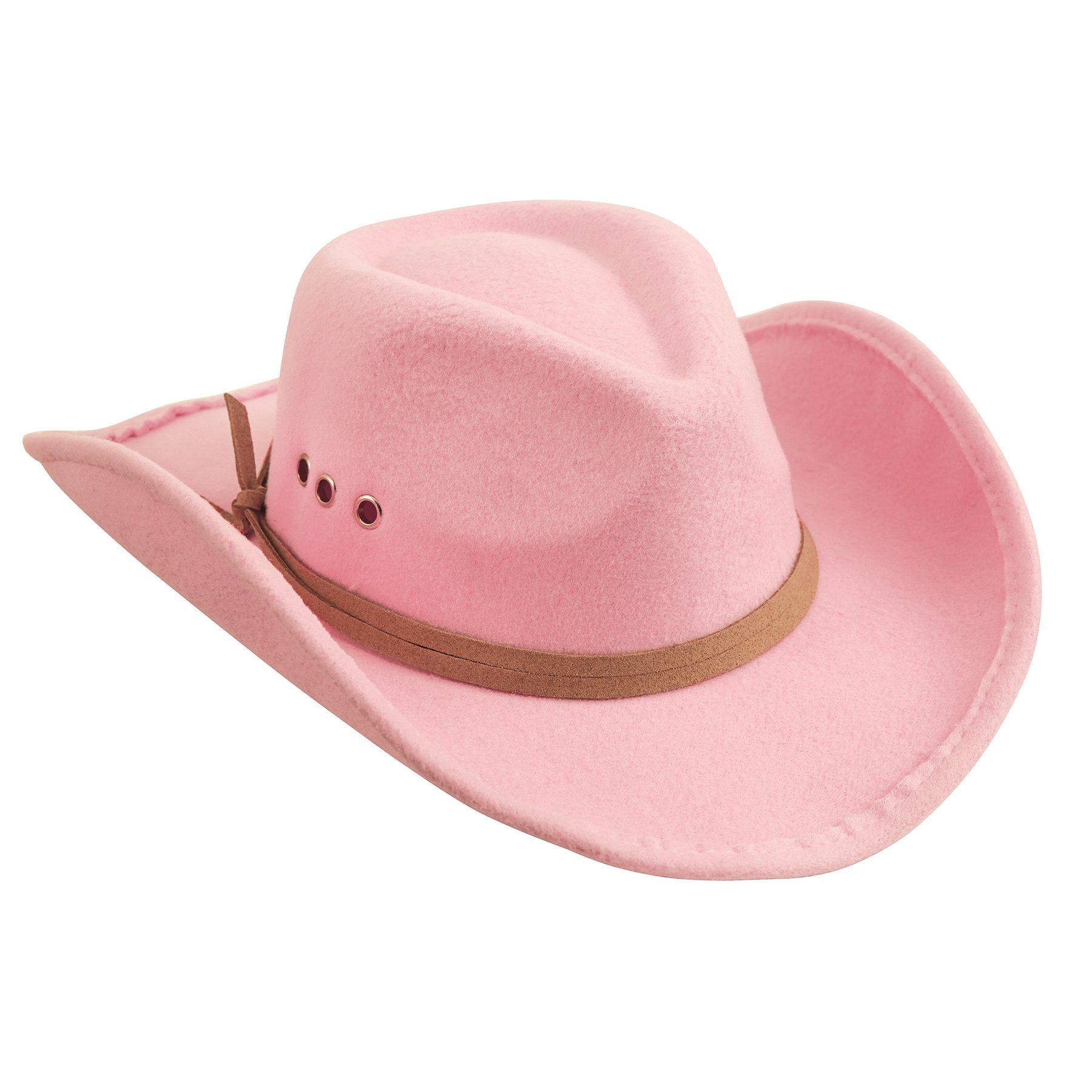 Mud Pie Girls Pink Cowboy Hat (one Size) by Mud Pie (Image #1)