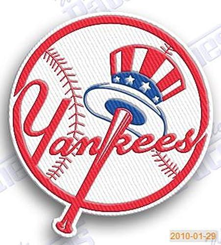 f16c17c58ef28 Amazon.com: NEW YORK YANKEES IRON ON EMBROIDERED PATCH MLB BASEBALL ...
