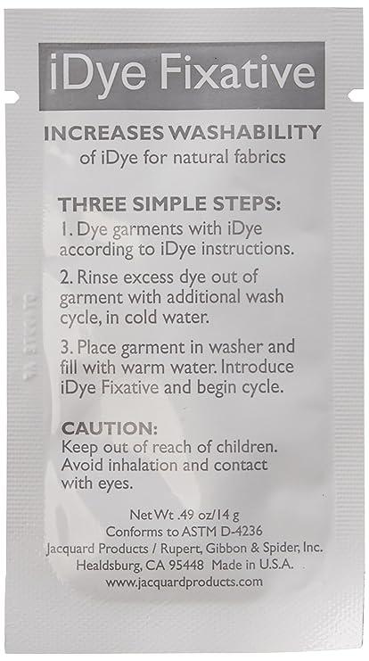 Amazon Jacquard Idye Fabric Dye 14 Grams Fixative
