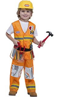 Amazon.com: Melissa & Doug Construction Worker Role Play Costume ...