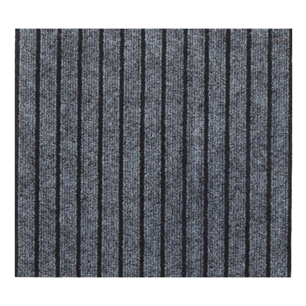 YANZHEN 廊下 滑り止め 吸水 切断可能 ドアマット 厚さ0.5mm 化学繊維、 長さのカスタマイズ (色 : グレイ ぐれい, サイズ さいず : 0.8 x 8m) B07QZRCWDT グレイ ぐれい 0.8 x 8m