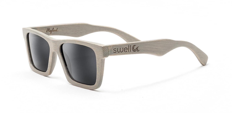 Classic Platinum Polarized Bamboo Sunglasses