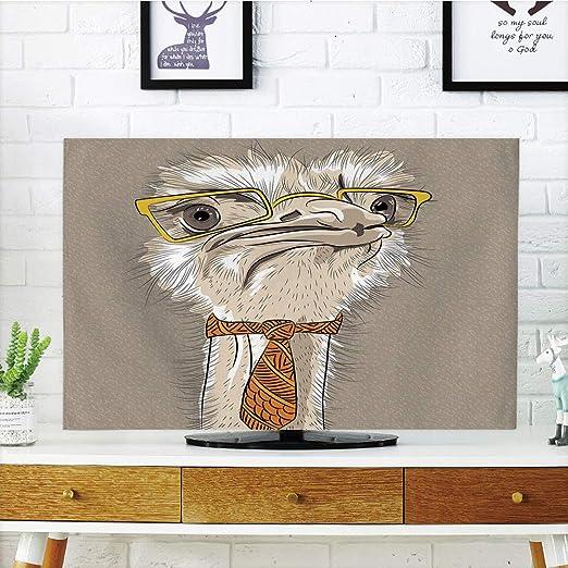 iPrint LCD TV Cubierta de Polvo, Indie, Bosquejo Retrato de ...