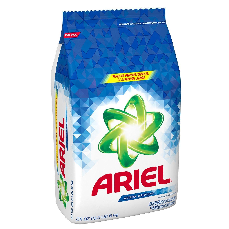 Detergente ariel aroma Original (211oz.): Amazon.es: Electrónica