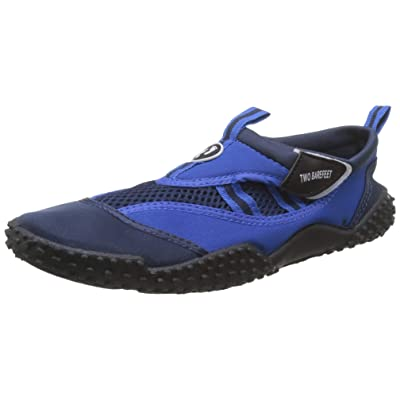 Amazon.com | Aqua Shoes - Wet Shoes Adults and Children's Neoprene Water Shoes, Blue/Navy, Kids C13 | Water Shoes
