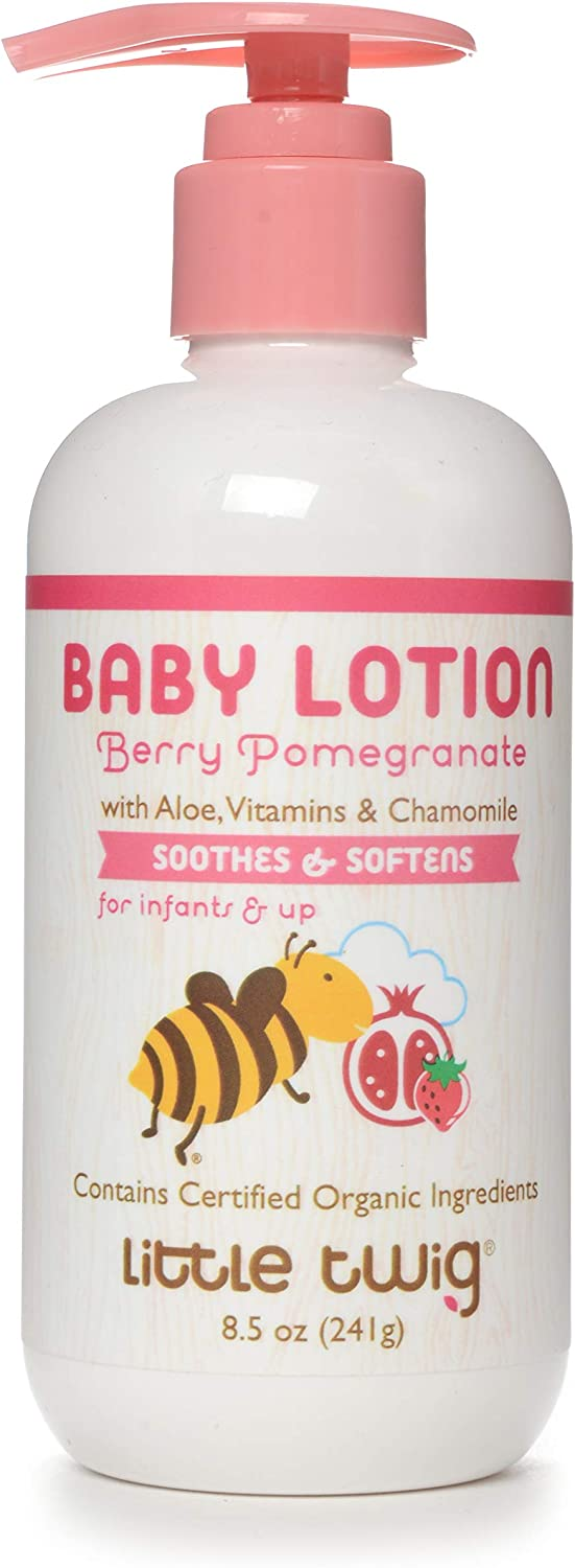 Little Twig Baby Lotion, Berry Pomegranate, 8.5 Ounce