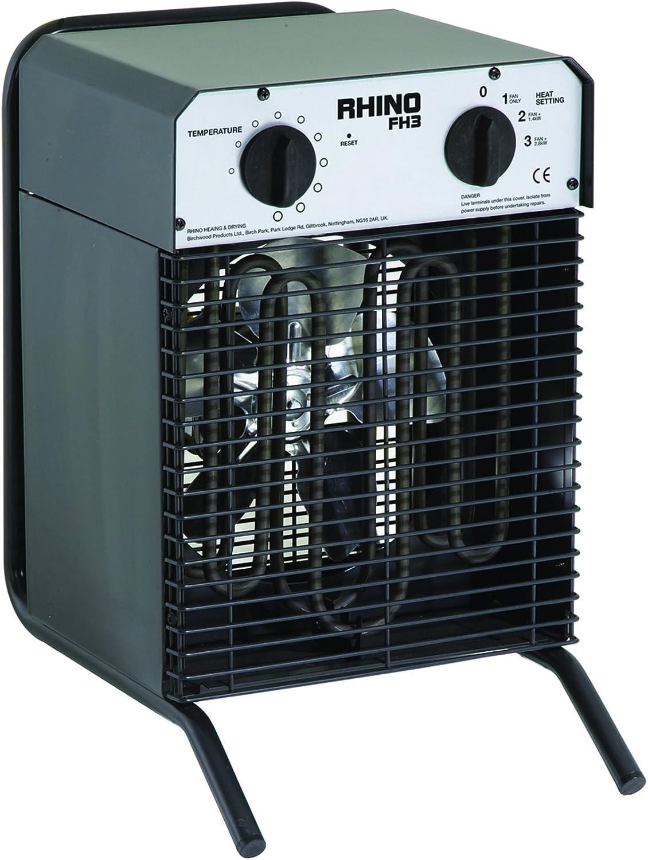 Rhino FH3 Industrial Fan Heater 110V
