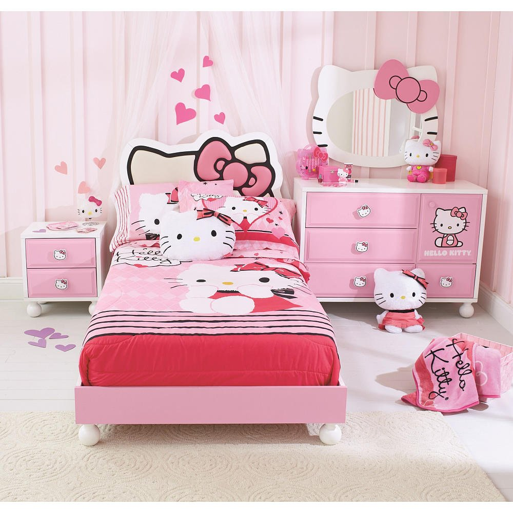 Hello Kitty Bedding & Bedroom Decor
