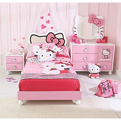 HELLO KITTY  BEDROOM IN A BOX Amazon com Kitchen Dining