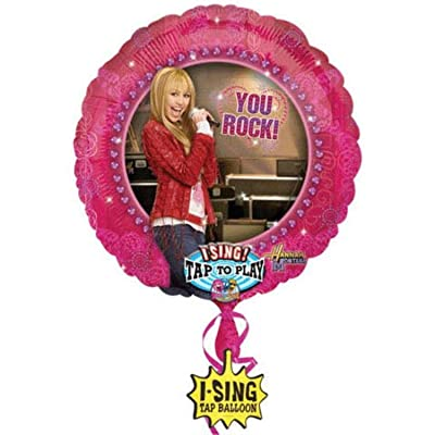 Hannah Montana Mylar Foil Singing Balloon: Toys & Games