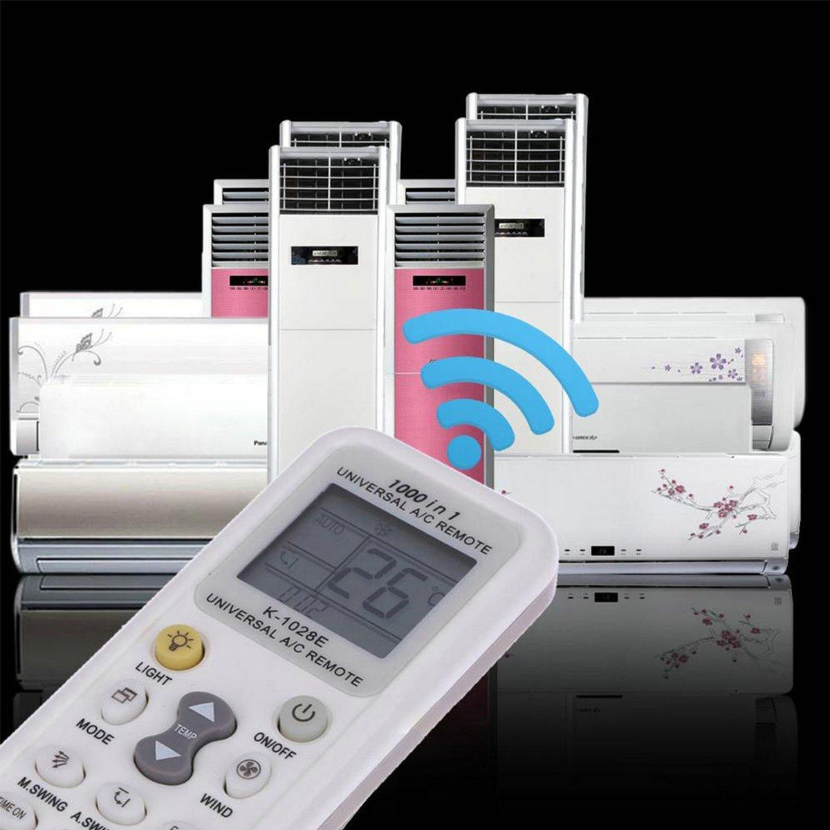 Coyaho Universal Air Conditioner Remote Control for Daikin, Hitachi