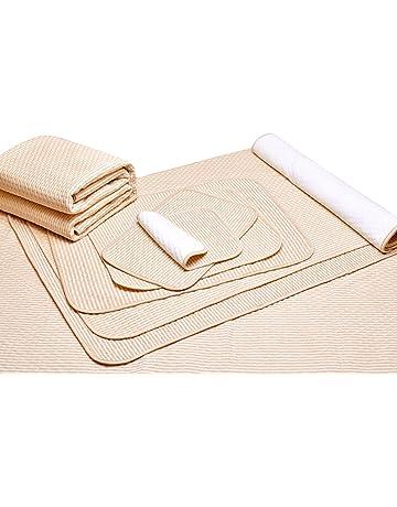 Liveinu Protector de Colchón Impermeable Absorbentes Almohadilla de Incontinencia para Niños Adultos y Mascotas 80x100cm Como
