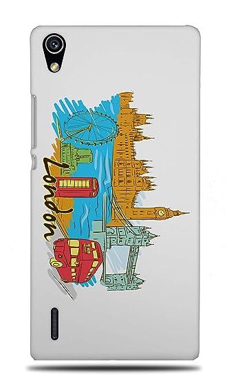 Amazon com: London United Kingdom Hard Phone Case Cover for