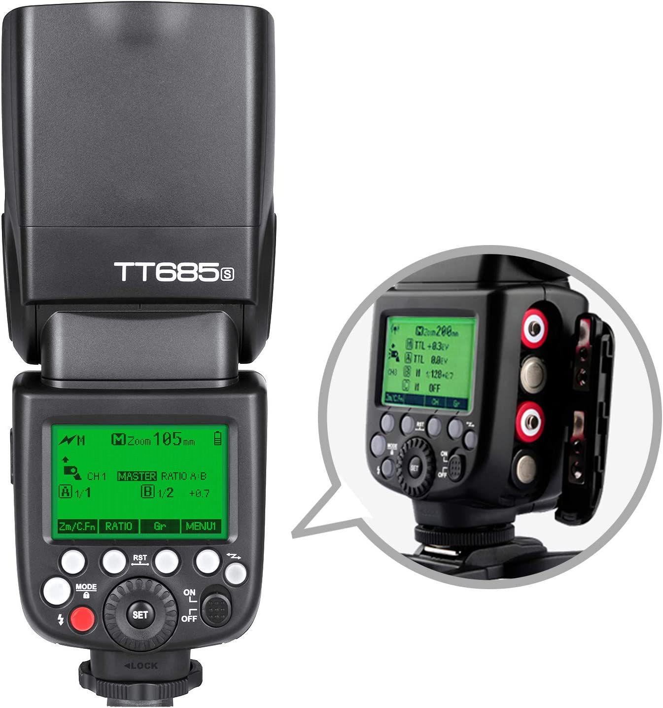 Godox Tt685n Ttl Blitz Speedlite Für Flash Kamera 2 4g Kamera