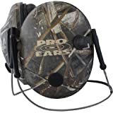 Pro Ears - Pro 200 - Behind The Head Headband - Electronic Hearing Protection and Amplification - Ear Muffs - Low Profile Design - Max 5 Camo