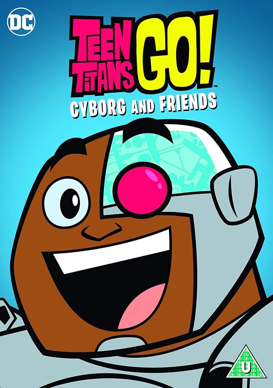 Teen Titans Go Cyborg And Friends Dvd 2018 Amazonco