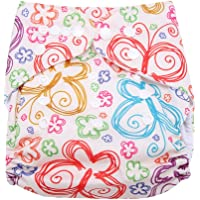 Calico Swim Diaper Baby Infant Snap Absorbente Lavable