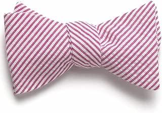product image for Seersucker Bow Tie- Pink