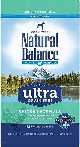 Natural Balance Original Ultra Grain Free Puppy Dog Food, Chicken Formula