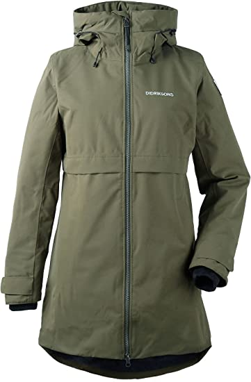 best loved daa5f ab1f1 Didriksons 1913 Damen Parka oliv 44: Amazon.de: Sport & Freizeit
