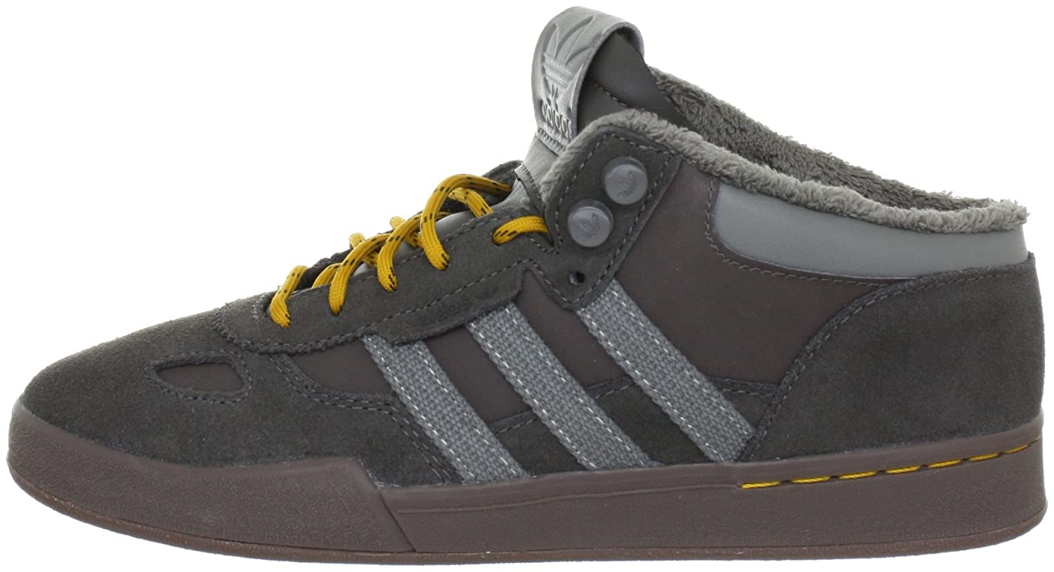 adidas Originals Mens CIERO MID Trainers Brown braun(DRKCIN