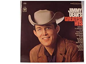 Jimmy Dean's Greatest Hits Record Album Vinyl LP