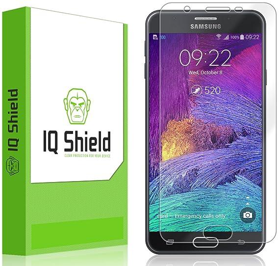 Samsung Galaxy J7 Prime Screen Protector, IQ Shield LiQuidSkin Full  Coverage Screen Protector for Samsung Galaxy J7 Prime HD Clear Anti-Bubble  Film