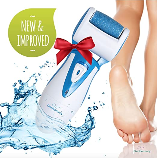 Electric Callus Remover & Rechargeable Pedicure Tools CR900 by Own Harmony