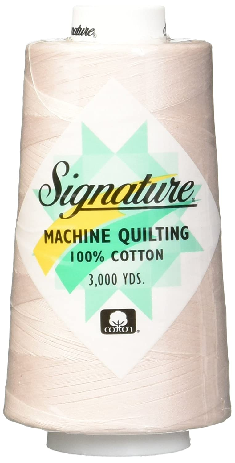 Signature Cotton Quilting Thread, 3000 yd, Solids Linen 47S-F207