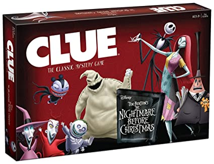 clue tim burtons the nightmare before christmas board game - Nightmare Before Christmas Theory