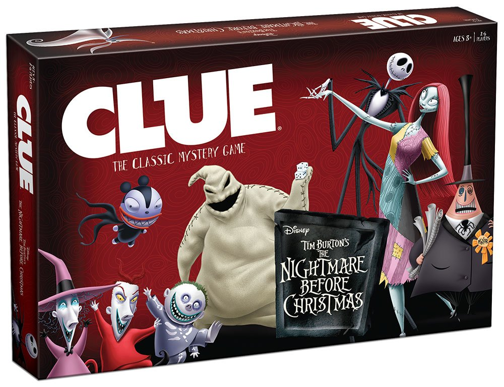 Clue: Tim Burtons The Nightmare Before Christmas Board Game | eBay