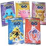 Toyshine Pokemon Trading Card Game- 5 Packs (Random)